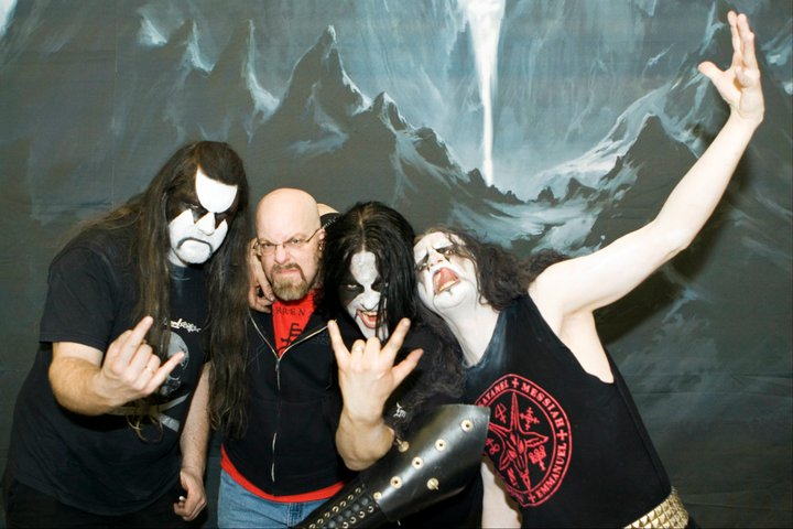With Immortal at Brooklyn Masonic Temple, NY- March 30, 2010