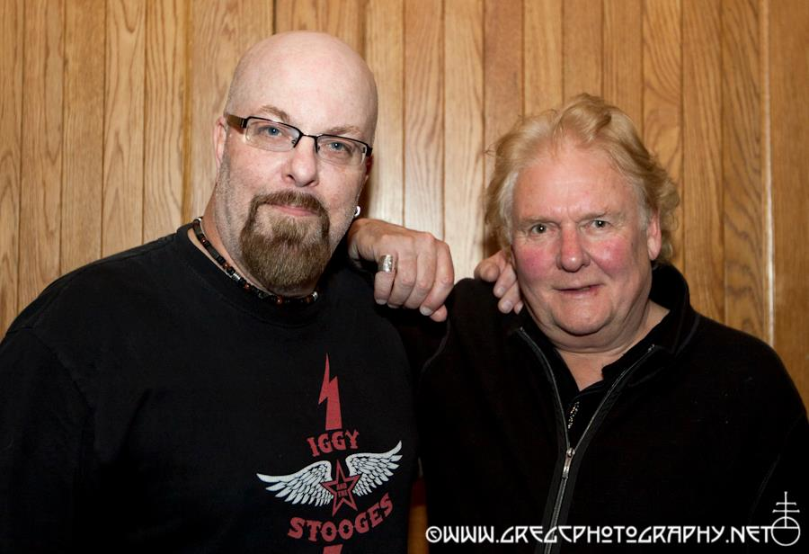 With David Cousins of The Strawbs at City Winery, NYC- September 27, 2011. Photo by Gutter Candy