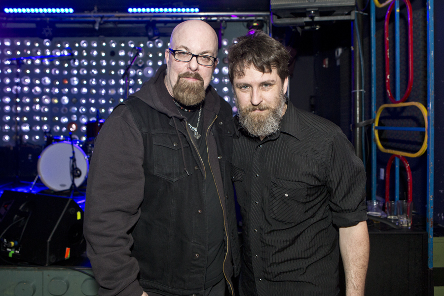 With Ben Chasny of Six Organs of Admittance after his set at Baby's All Right in Brooklyn, NY- April 30, 2015