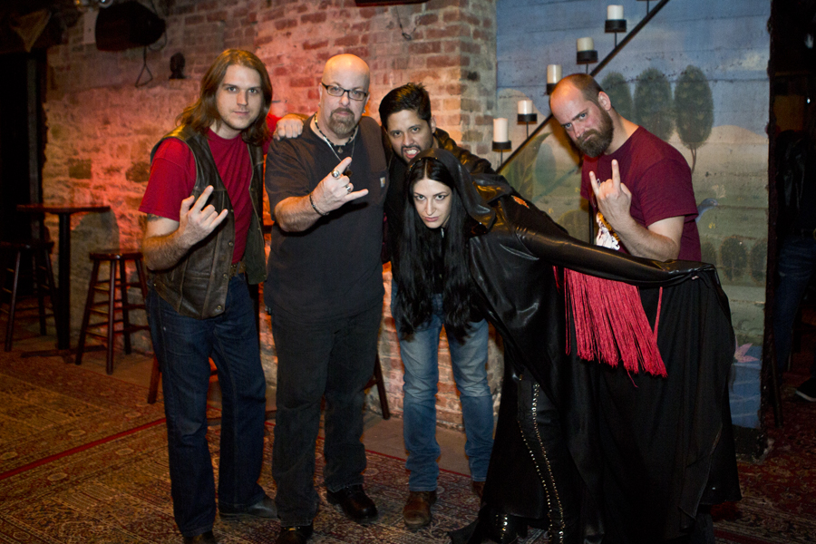 With Blood Ceremony after their set at The Gramercy Theatre, NYC- November 1, 2014