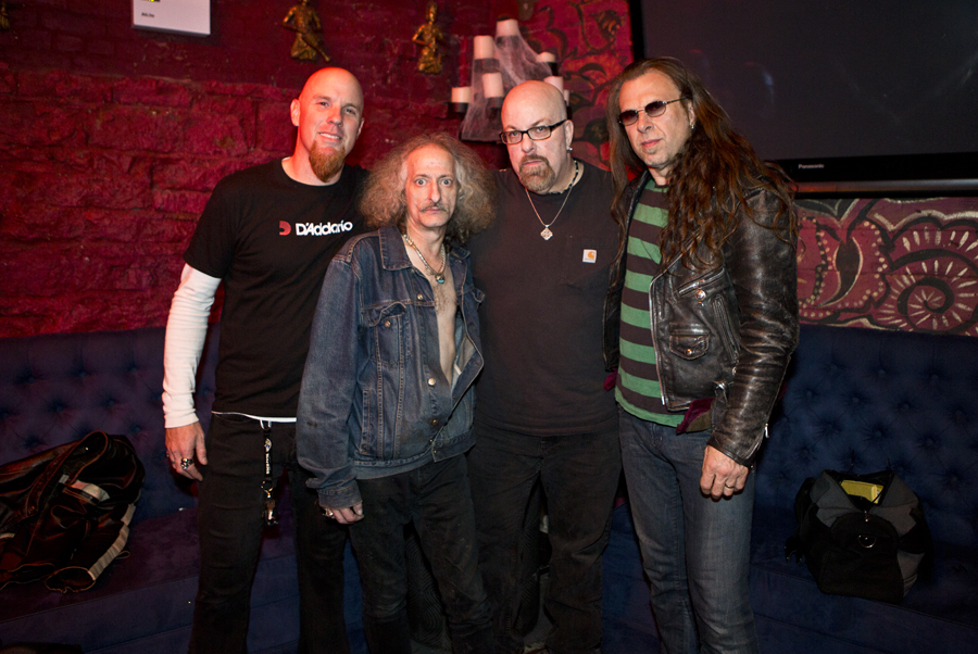 With Pentagram after their set at The Gramercy Theatre, NYC- November 1, 2014