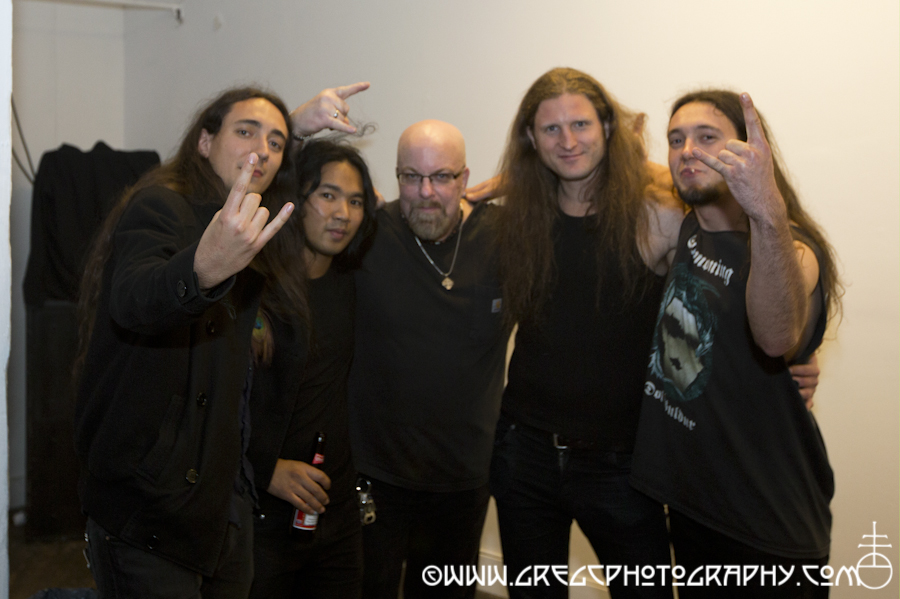 With Alcest at Public Assembly in Brooklyn, NY- March 31, 2012. Photo by Stefan Raduta