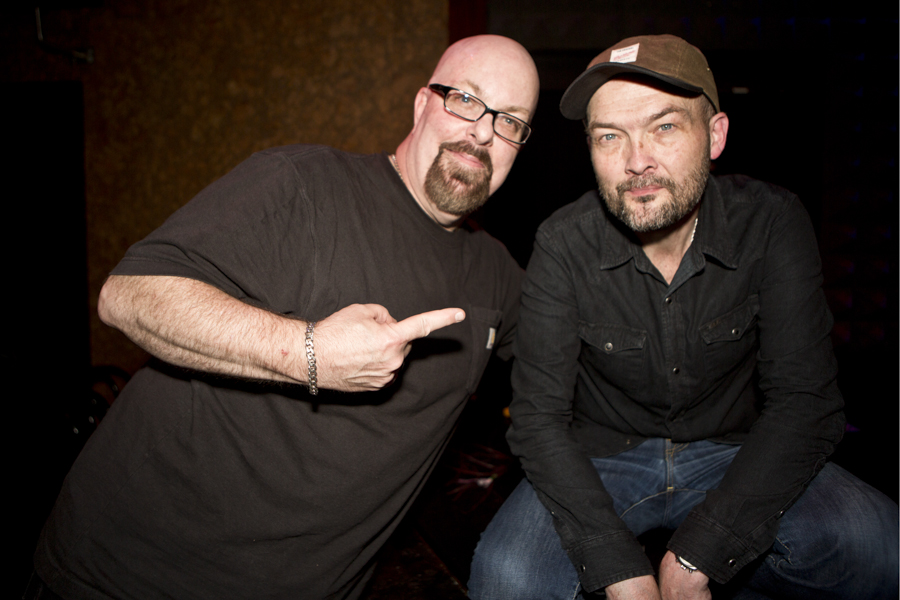 With Ben Watt (of Everything But The Girl) after his set at Joe's Pub, NYC- June 11, 2014