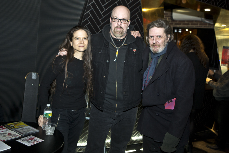 With Reg Bloor and Glenn Branca at National Sawdust in Brooklyn, NY- October 25, 2015
