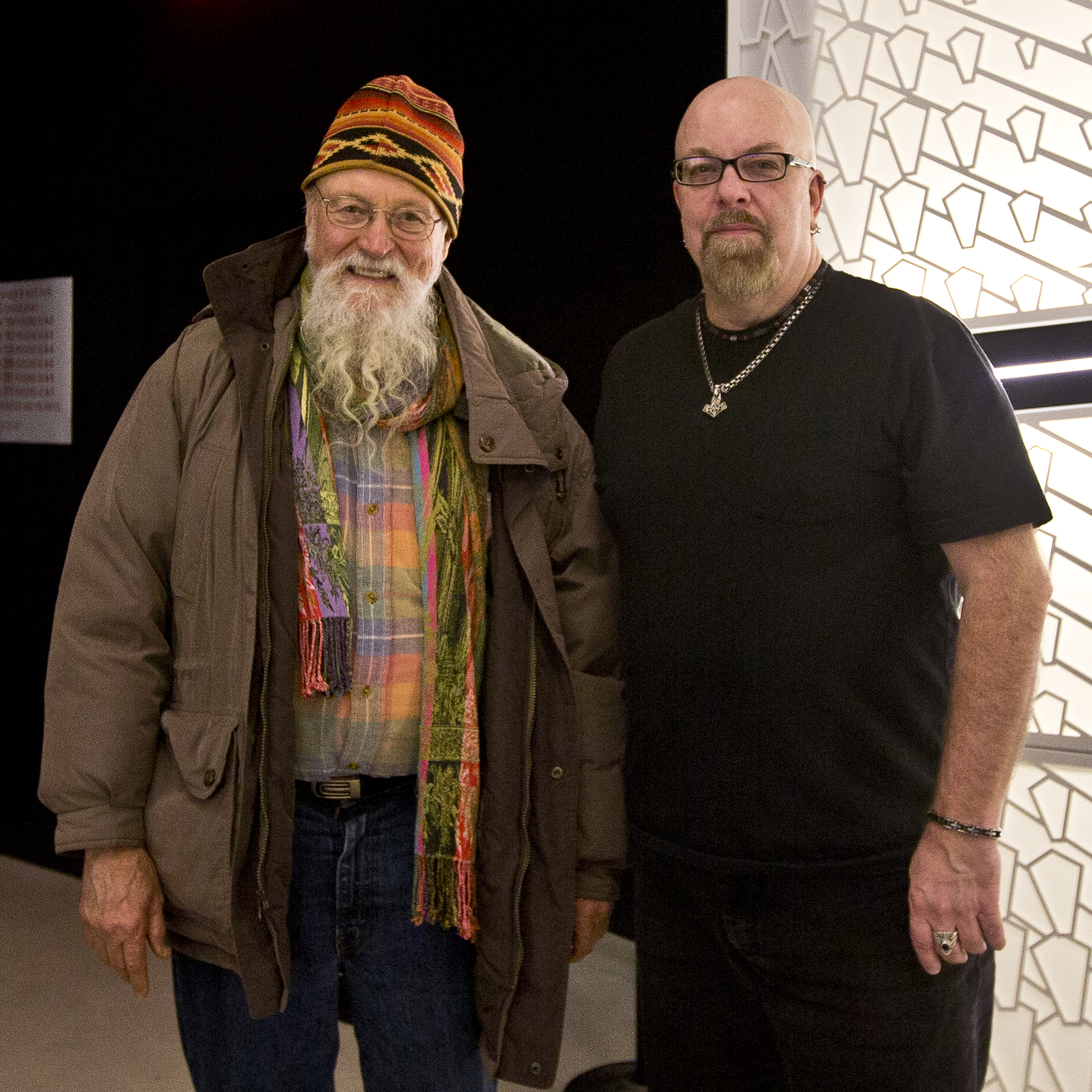 With Terry Riley at Terry Riley Festival 4 at National Sawdust in Brooklyn, NY- October 4, 2015