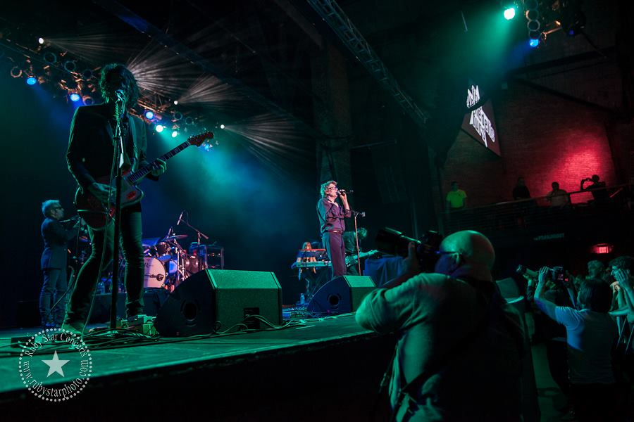 greg C photographing Psychedelic Furs at The Paramount in Huntington, NY- June 21, 2013. Photo by Ruby Starr.