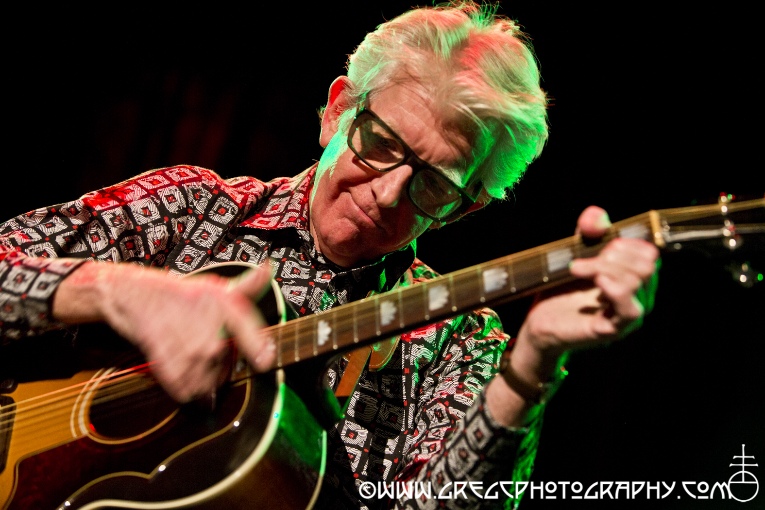 Nick Lowe Quality Holiday Review with Los Straitjackets_13_20141220