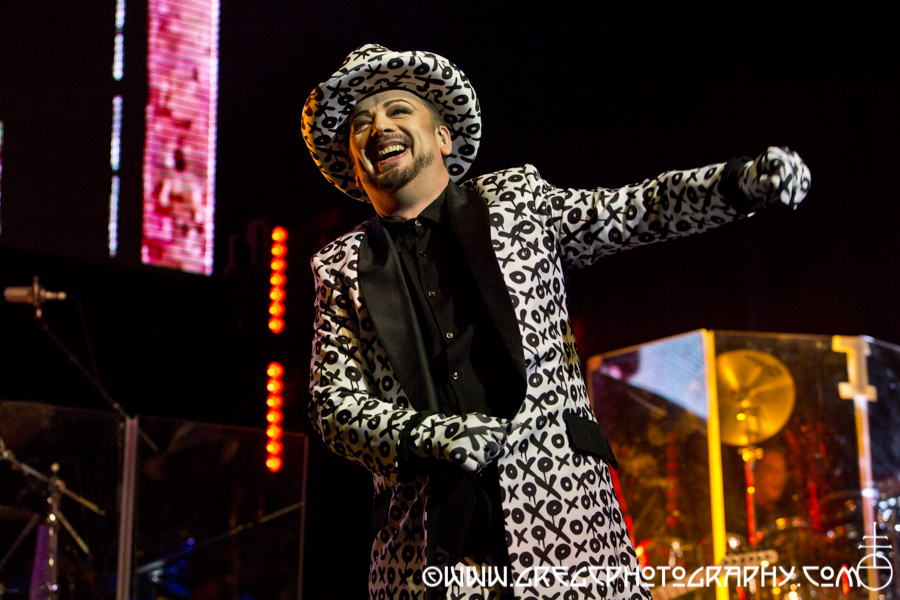 Culture Club at The Wellmont Theatre in Montclair, NJ