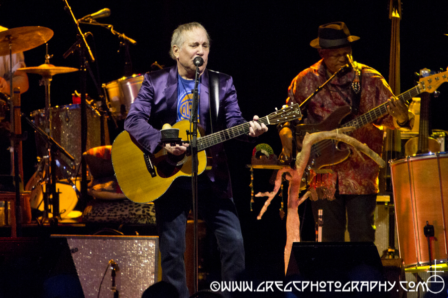 Paul Simon at Forest Hills Stadium in Forest Hills, NY