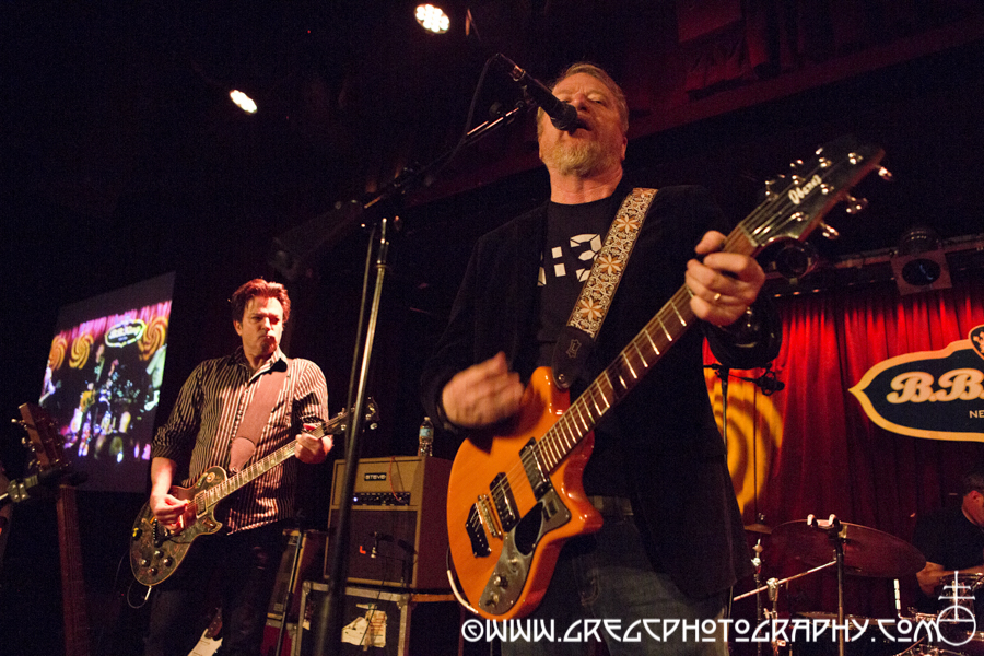 Johnny Hickman (left) and David Lowery of Cracker at B.B. King Blues Club & Grill, NYC - Cracker & Camper Van Beethoven Photos For Sale