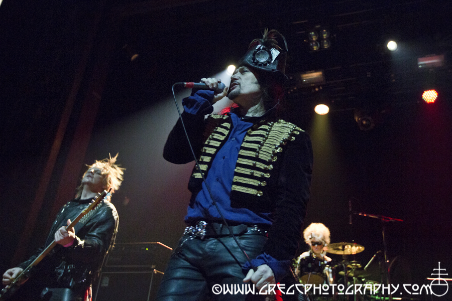 (L-R) Joe Holweger, Adam Ant and Jola at Webster Hall, NYC - Adam Ant and Glam Skanks Photos