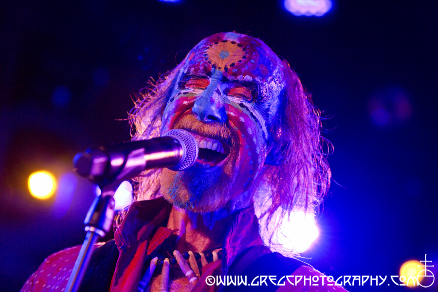 Arthur Brown of The Crazy World of Arthur Brown at Le Poisson Rouge, NYC - The Crazy World of Arthur Brown and Electric Citizen Photos