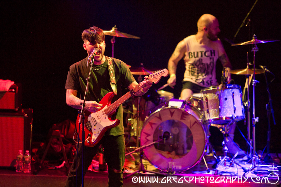 Nathan Williams (left) and Brian Hill of Wavves at Bowery Ballroom, NYC - Wavves and Post Animal Photos