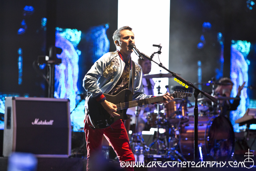 Matt Bellamy of Muse at Central Park SummerStage at Rumsey Playfield, NYC - Muse Photos