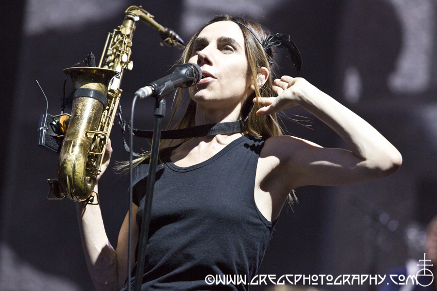 PJ Harvey at Central Park SummerStage at Rumsey Playfield, NYC - PJ Harvey photos from Central Park SummerStage