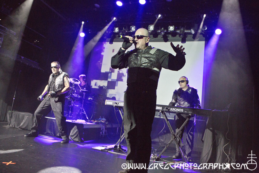 Front 242 at Irving Plaza, NYC - Front 242 and Severed Headsphotos from Irving Plaza