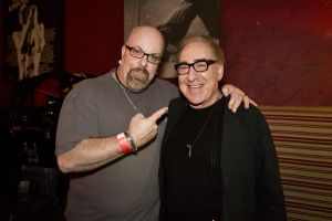 With producer and songwriter Kenny Laguna (Tommy James and The Shondells, Ohio Express, The Lemon Pipers, Joan Jett) at a Cherie Currie concert at Revolution Bar and Music Hall in Amityville, NY- November 8, 2013.