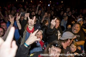 Ace Frehley fans at The Paramount in Huntington, NY- November 20, 2014.