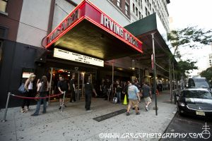 Agalloch fans line up for two blocks to get in at Irving Plaza, NYC- June 30, 2014.