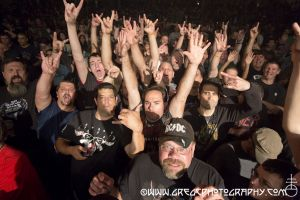 Anthrax fans at The Wellmont Theater in Montclair, NJ- October 5, 2012.
