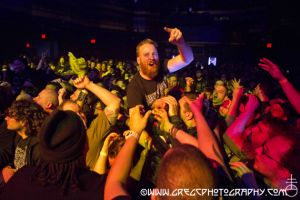 At The Gates fans at Webster Hall, NYC- April 12, 2015.