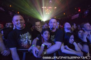 Behemoth fans at Irving Plaza, NYC- May 12, 2012.