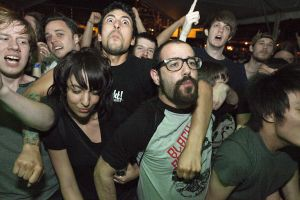 Black Breath fans at SXSW Festival 2012 at Scoot Inn in Austin, TX- March 16, 2012.