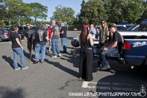 Black Sabbath fans at PNC Bank Arts Center in Holmdel, NJ- August 4, 2013.
