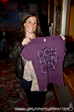 Don Henley fan at The Paramount in Huntington, NY- April 3, 2013.