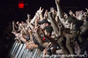 Down fans at Best Buy Theater, NYC- September 28, 2012.