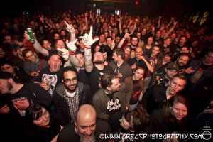 Electric Wizard fans at Webster Hall, NYC- April 2, 2015.