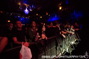 Front 242 fans at Irving Plaza, NYC- September 24, 2014.
