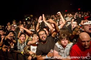 GBH fans at Gramercy Theatre, NYC- September 26, 2014.