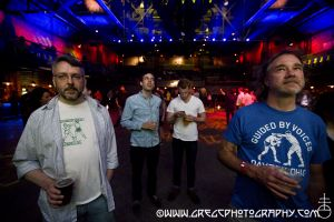 Guided By Voices fans at The Paramount in Huntington, NY- August 22, 2014.