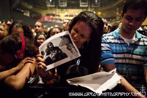 Ice Cube fan at Roseland Ballroom, NYC- June 20, 2013.