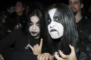 Immortal fans at Gramercy Theater, NYC- February 19, 2011.