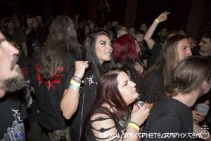 Dead Congregation fans at Public Assembly in Brooklyn, NY- June 30, 2012.
