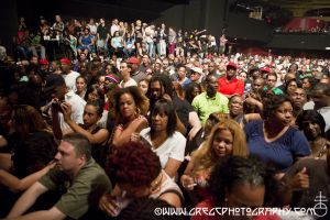 LL Cool J fans at Roseland Ballroom, NYC- June 20, 2013.