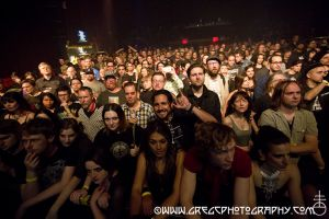 Laibach fans at The Gramercy Theatre, NYC- May 12, 2015.