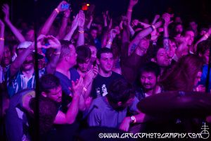 Lightning Bolt fans at Le Poisson Rouge, NYC- May 16, 2015.