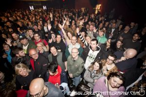 Manic Street Preachers fans at Webster Hall, NYC- April 23, 2015.