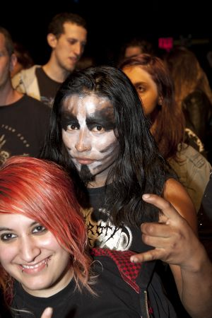Mayhem fans at Gramercy Theater, NYC- November 3, 2011.