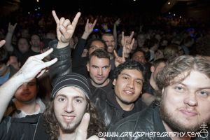 Motorhead fans at Best Buy Theater, NYC- February 28, 2011.