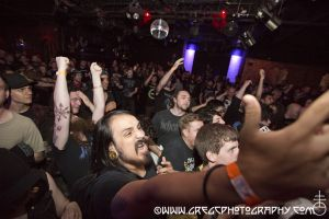 Nasum fans at Europa in Brooklyn, NY- May 24, 2012.