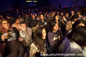 Primal Scream fans at Warsaw in Brooklyn, NY- May 21, 2015.