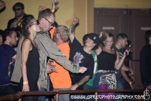 Primus fans dancing in the mezzanine at Hammerstein Ballroom, NYC- October 19, 2012.