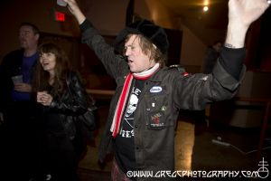 Public Image Ltd fan at Hammerstein Ballroom, NYC- October 13, 2012.