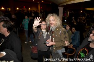 Public Image Ltd fans at Hammerstein Ballroom, NYC- October 13, 2012.