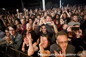 Ride fans at Warsaw in Brooklyn, NY- June 4, 2015.