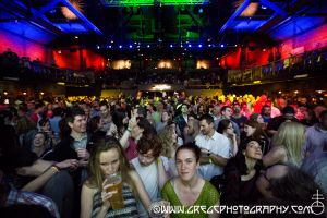 Rusted Root fans at The Paramount in Huntington, NY- May 23, 2014.